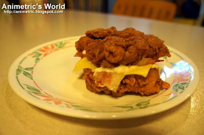 KFC ZINGER DOUBLE DOWN is available for P120 at all KFC branches ...