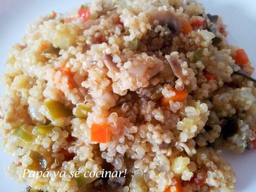 Pap ya s cocinar quinoa con verduras - Cocinar quinoa con verduras ...