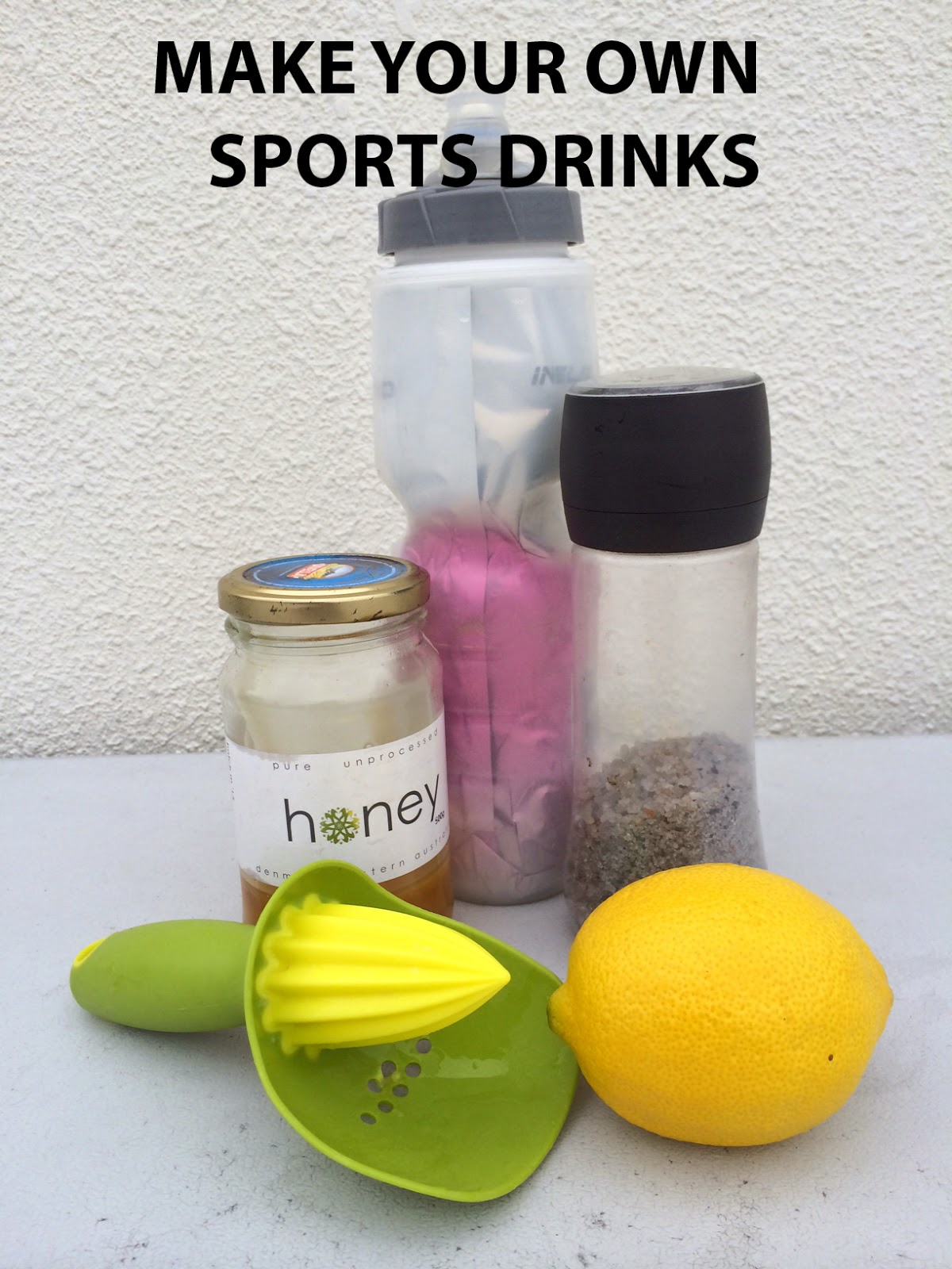 How To Make Your Own Sports Energy Drink