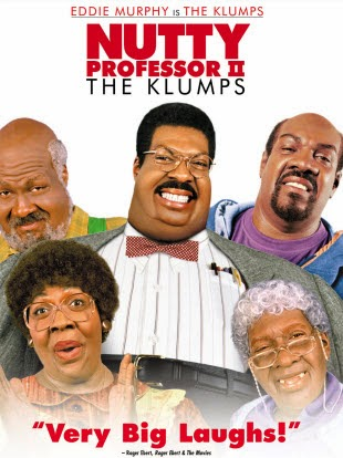 The Nutty Professor 1997 Hindi Dubbed Dual DVDRip 300mb