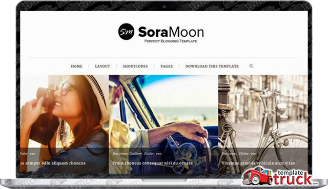 sora moon awesome blogger template blogger templates 2018 best