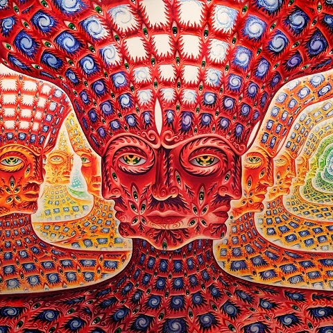 "Alex Grey ""The Net of Being"""