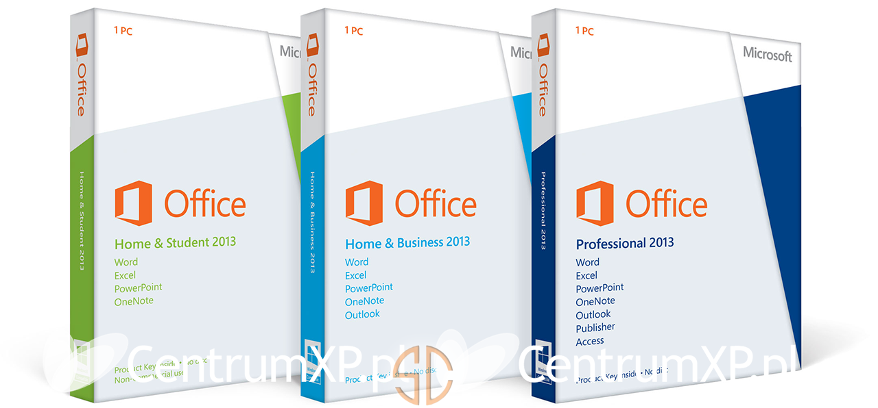 Microsoft Office 2013 Pro Plus (x86) & (x64)