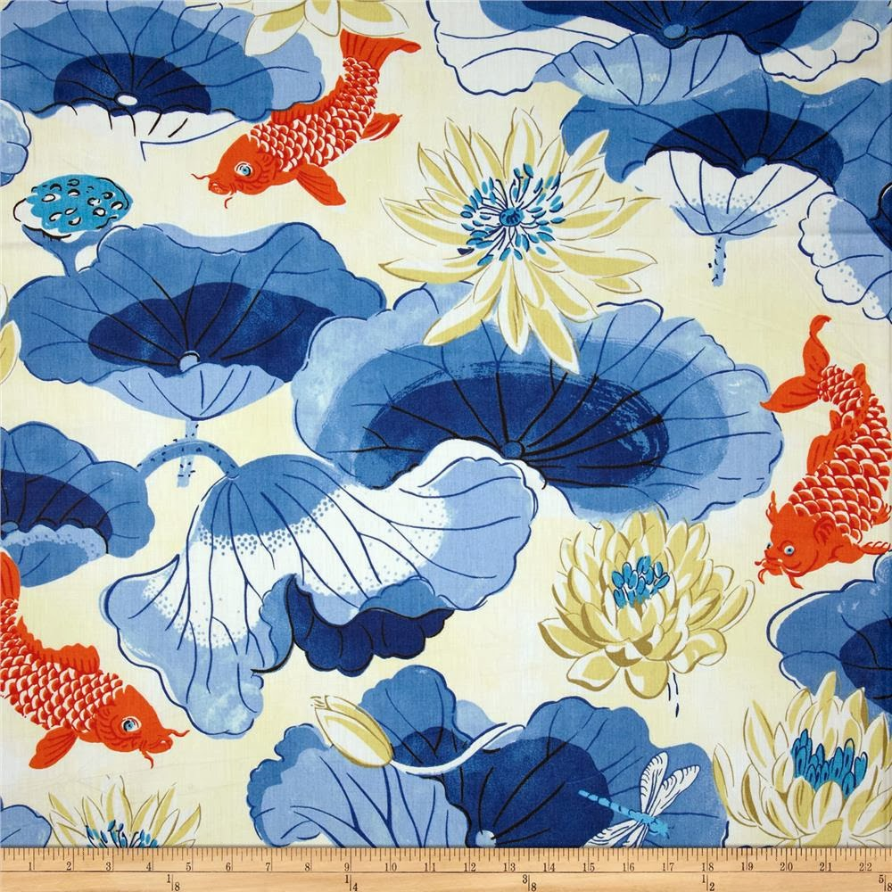 Aesthetic oiseau waverly chinoiserie chintz for Chintz fabric