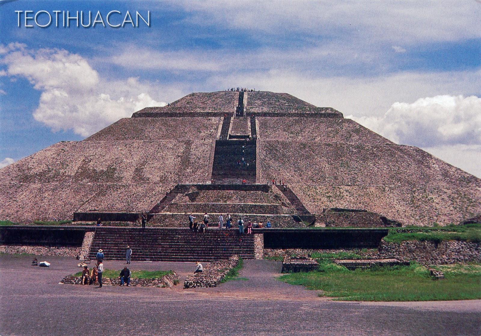 Ciudad prehispánica de Teotihuacán - Centro del Patrimonio Mundial de la UNESCO