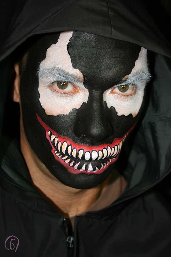 Pin It Email This BlogThis! Share to Twitter Share to Facebook Venom Costume Paint