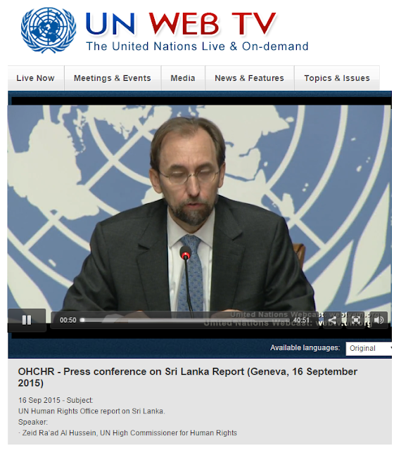OHCHR Press Conference on Sri Lanka Report