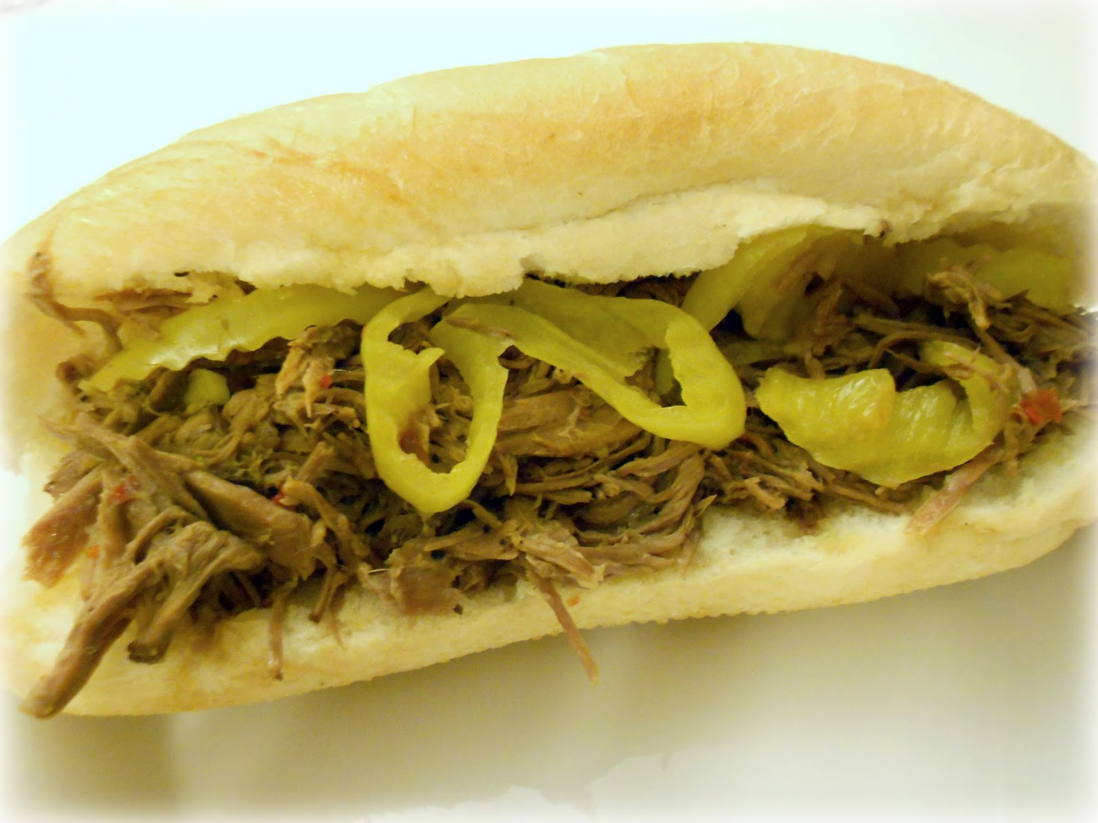 Slow Cooker Italian Beef Sandwiches Recipe (only 4 ingredients!) / Six ...