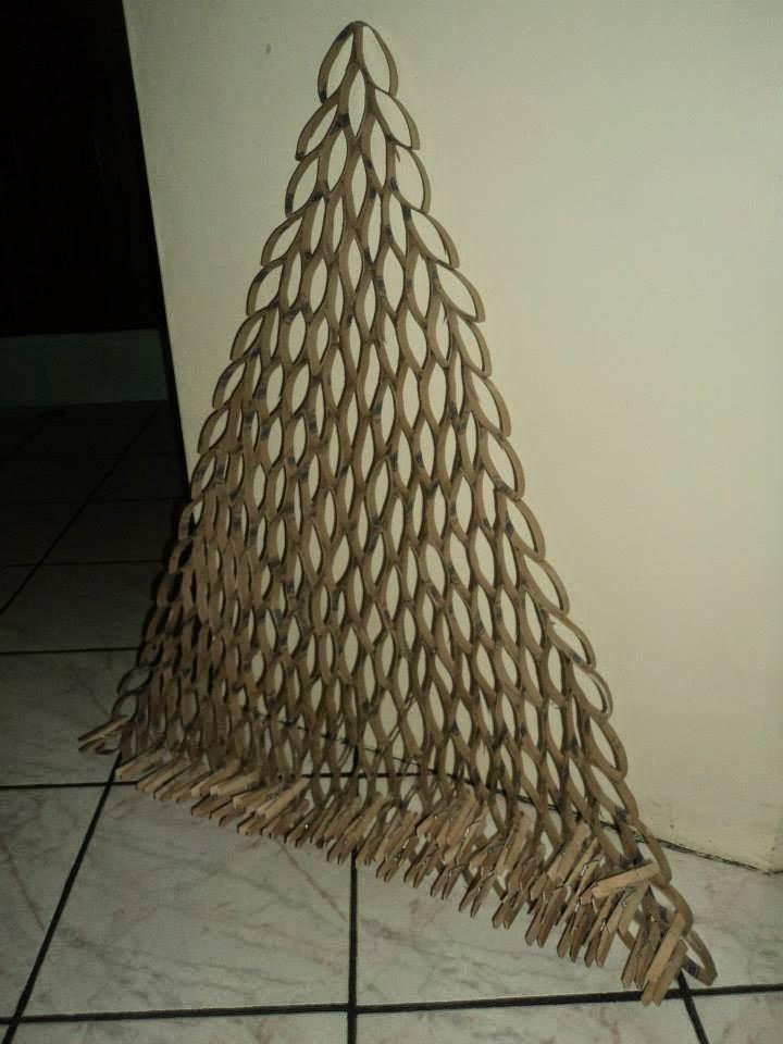 Manualidades - Arbol de navidad de alambre ...