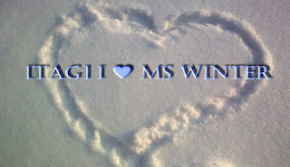TAG: I ♥ Ms Winter
