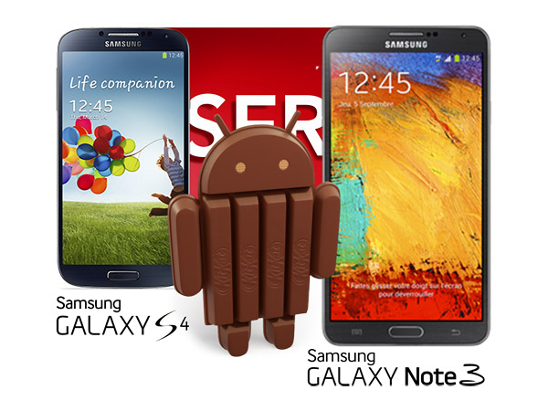 Samsung Galaxy S4 and Note III SFR update