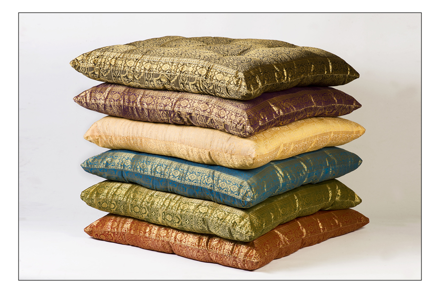 Monsoon Craft.com: indian floor pillows cushions