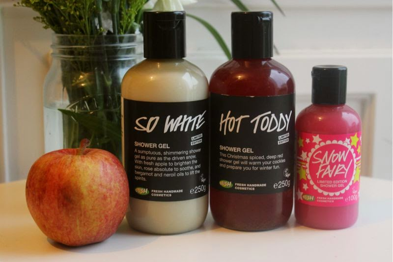 Lush Christmas Shower Gels 2014