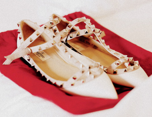 Valentino flat wedding shoes on Merci New York