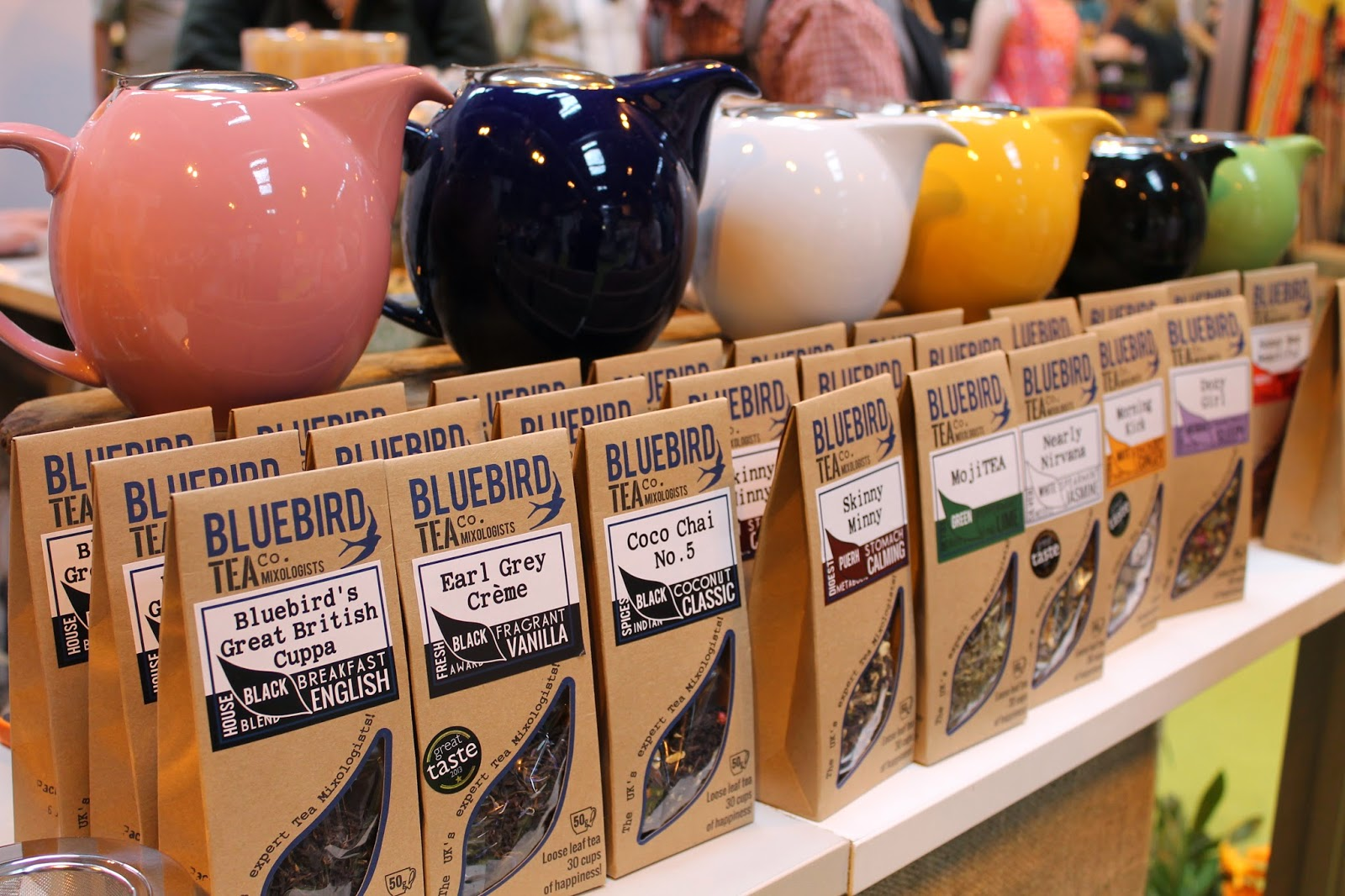 BBC Good Food Show Summer - NEC Birmingham - Bluebird Tea Co.