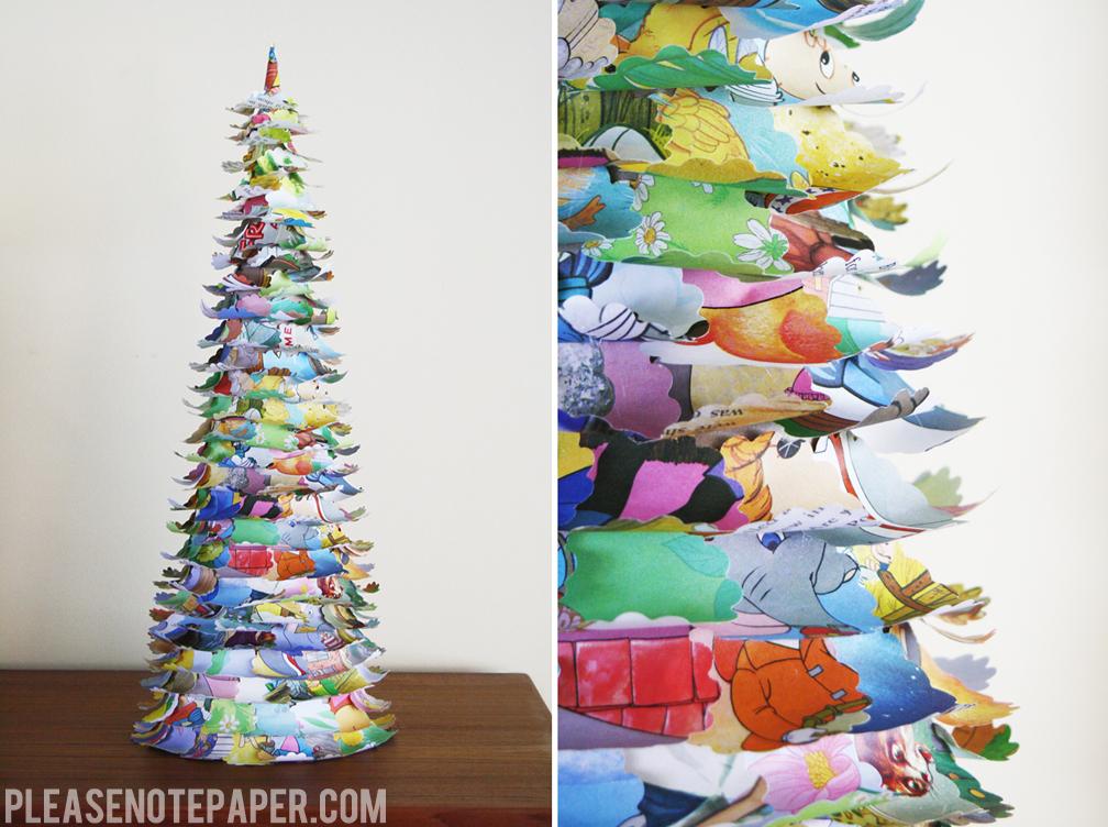 Новогодняя елка своими руками в домашних условиях фото