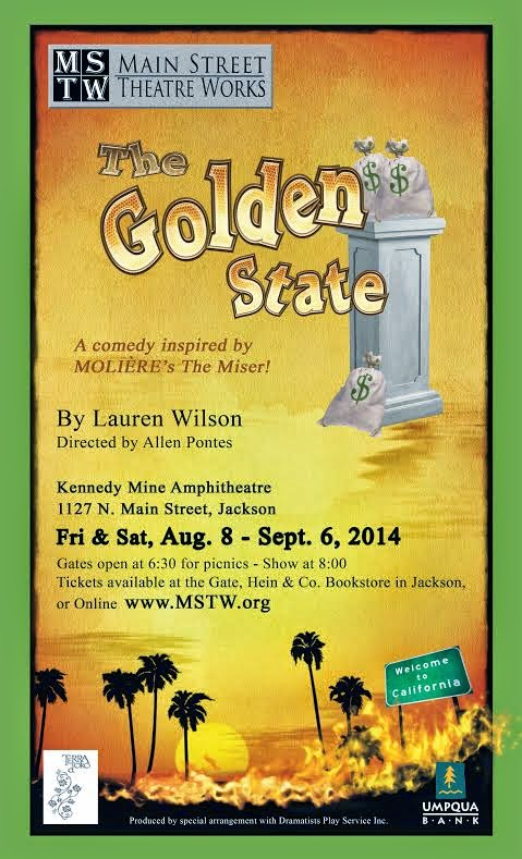 """MSTW's """"The Golden State"""" - Aug 8 through Sept 6"""