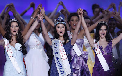 China's Yu Wenxia Miss World 2012