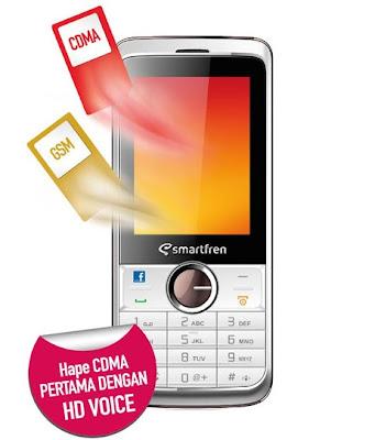 Harga Smartfren Jambu, Dual SIM GSM-CDMA