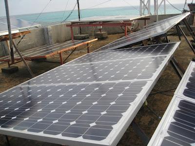 Trang bịdàn sử dụng năng lượng mặt trời