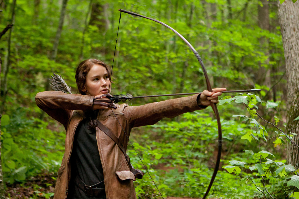 the protagonist in the hunger games