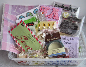 Lovely giveaway at scrap a la Jen end may 31st