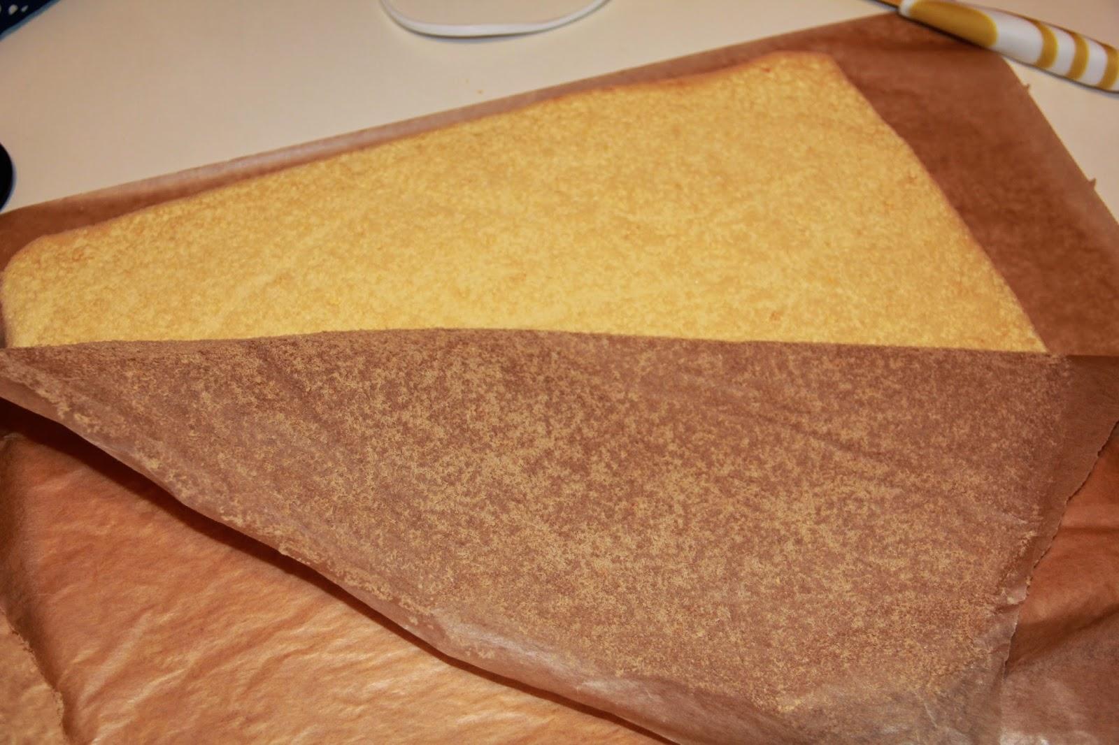 Как убрать бумагу прилипшую к выпечке