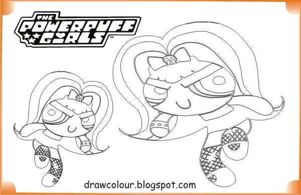 Powerpuff Girls Evil Powerpuff Girl Coloring Pages | Art Paper