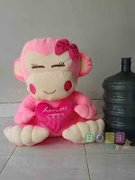 Boneka Monyet Lucu