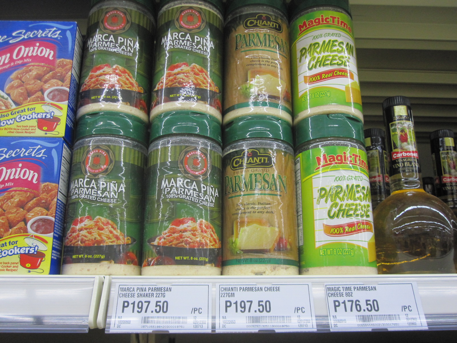 Parmesan cheese price philippines
