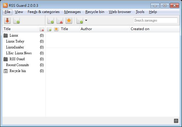 RSS 閱讀器推薦:RSS Guard Portable 免安裝版下載
