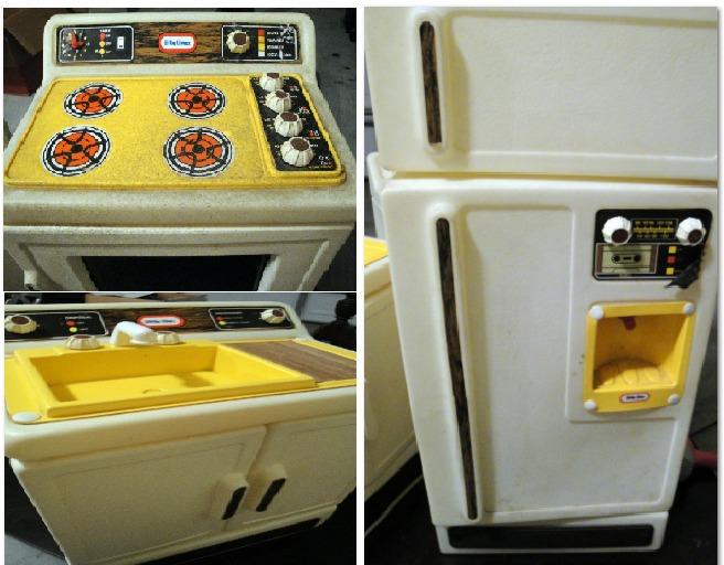 Because I Saw It On Pinterest Vintage Little Tikes Kitchen