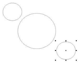lingkaran 3 buah