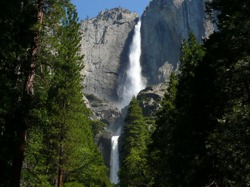 wallpapers yosemite falls wallpapers