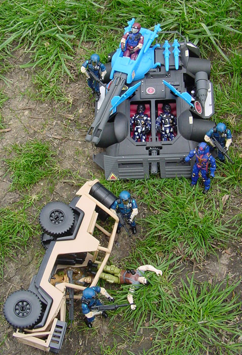 1997 Rage, Alley Viper, TRU Exclusive, 1998 Cobra Trooper, 1997 Viper, 2001 Desert Striker, 1987 Rumbler, Flint, HQ, Rock and Roll