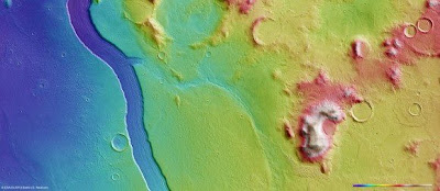 Scientists uncover massive river on Mars