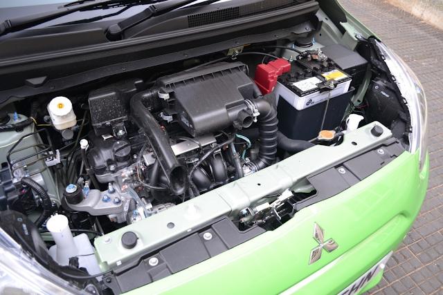 Động cơ MIVEC trên xe Mitsubishi Mirage