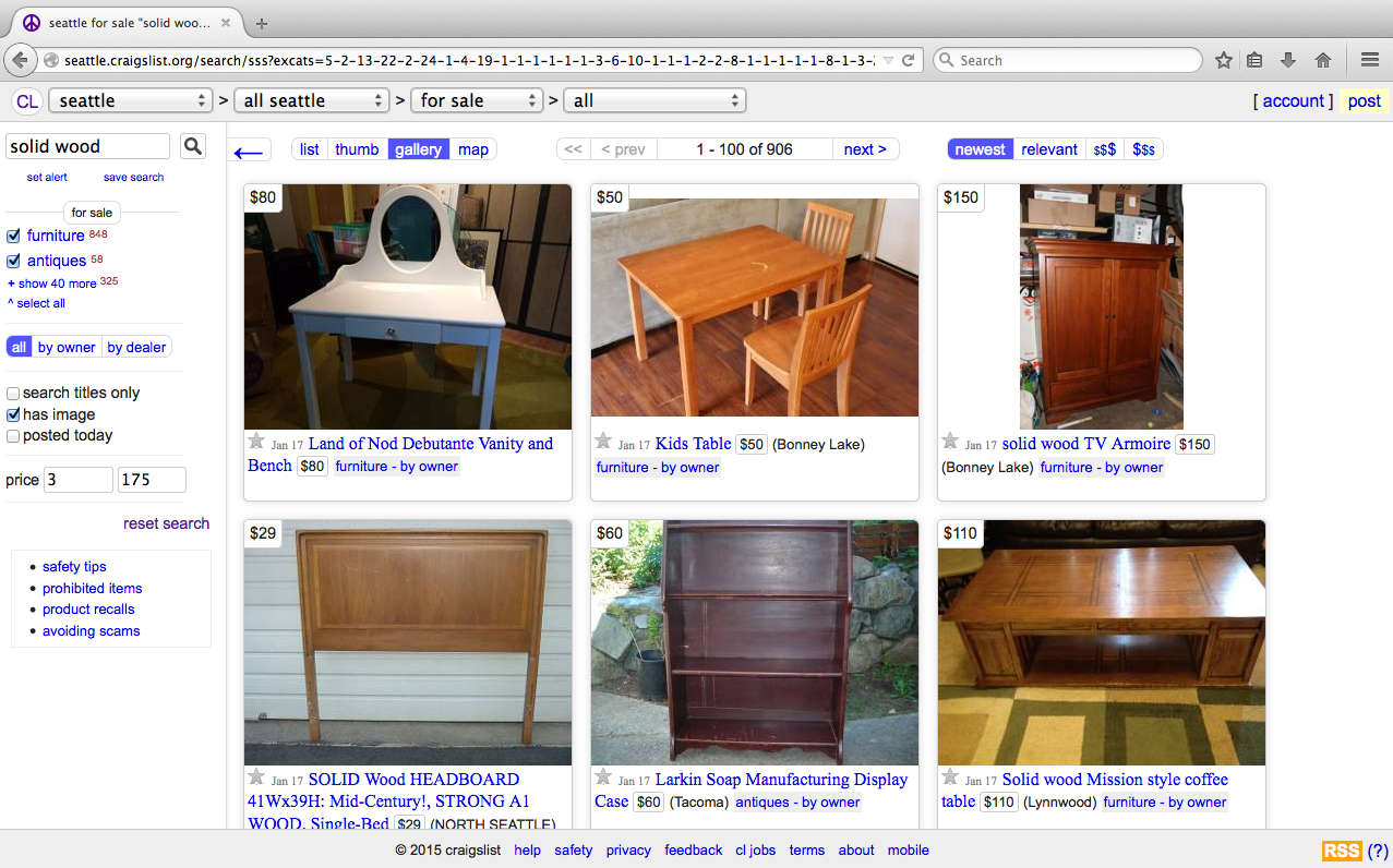 Furniture Buying Guide Where To Look For And Buy Used Furniture