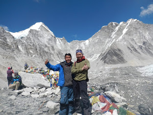We Made the Everest Base camp