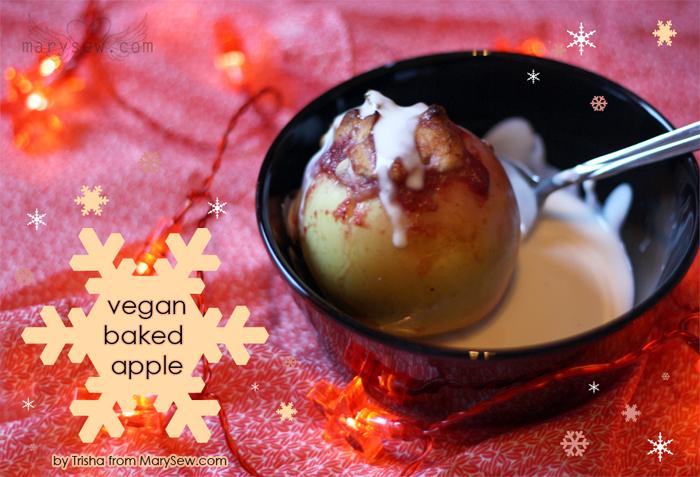 Luloveshandmade: Recipe: Vegan Baked Apple