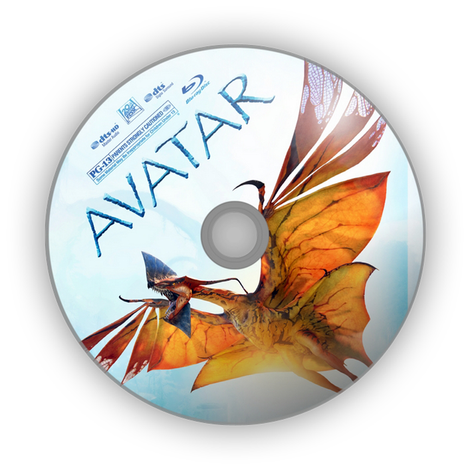 Avatar Dvd Label Artwork