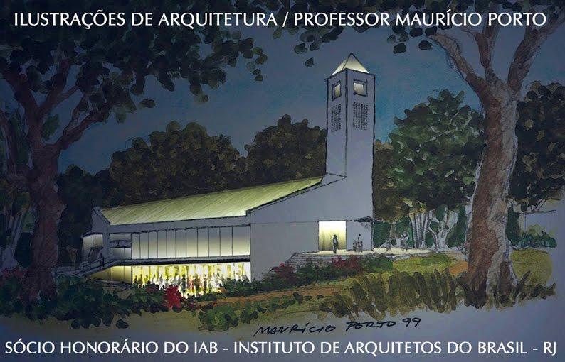 ILUSTRAÇÕES DE ARQUITETURA