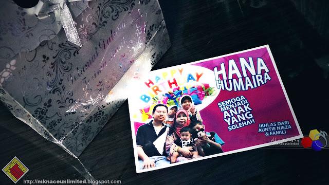 Happy 3rd Birthday Hana Humaira
