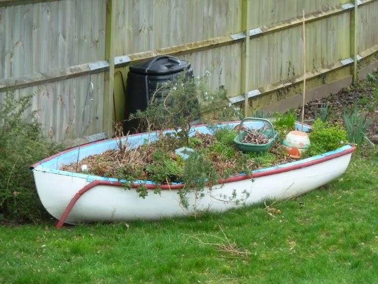 bursledon blog backyard boat