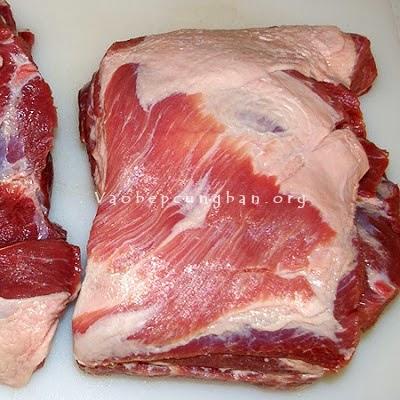 Cách làm thịt xá xíu ngon lại cực dễ 1