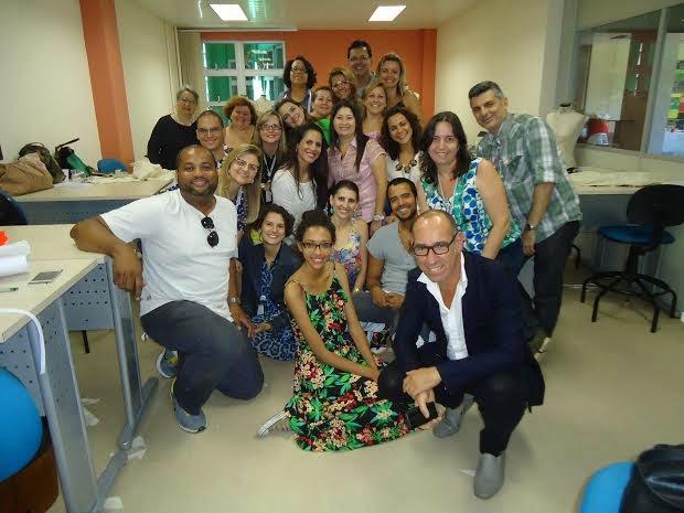 final do curso CETIQT-RIO com Gustavo Lins