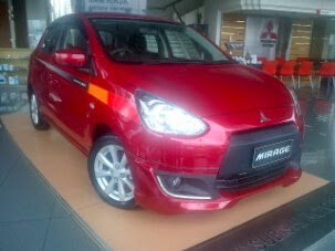 new mitsubishi mirage sporty 2015
