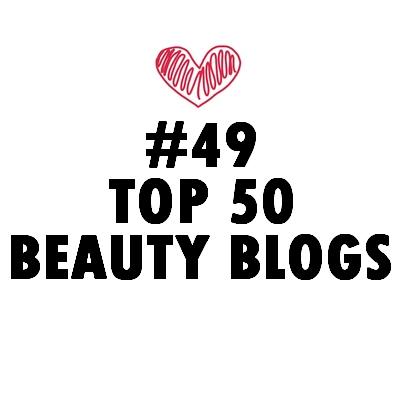 TOP 50 BEAUTY BLOGS