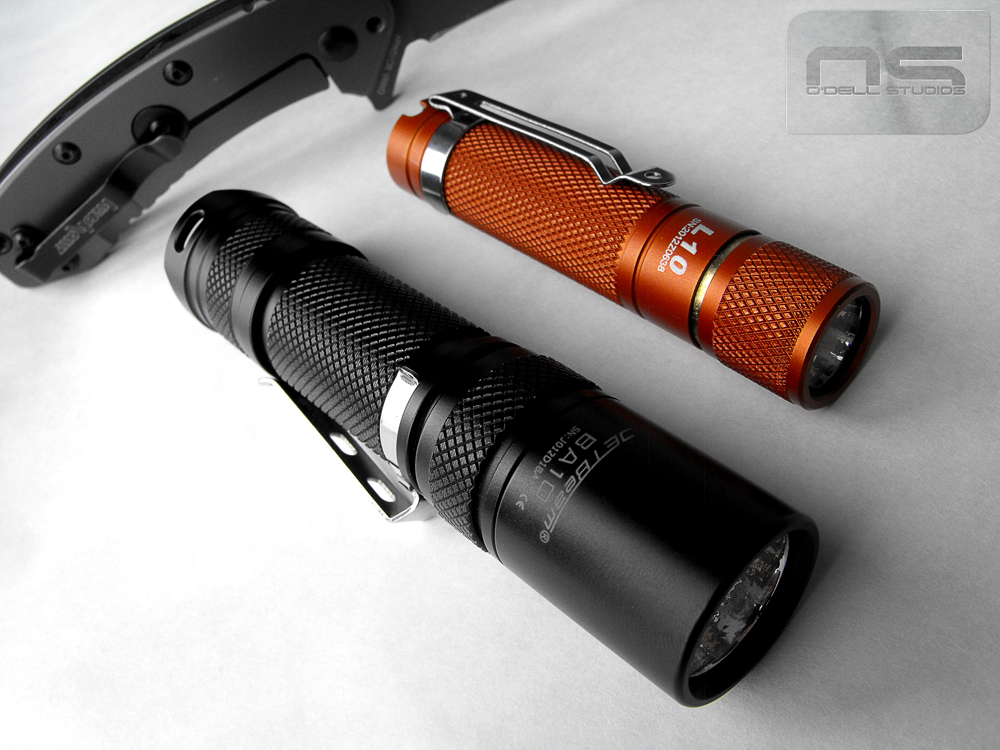 Everyday carry flashlights