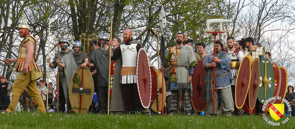 SION (54) - Journée gallo-romaine 2015